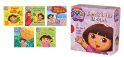 Dora the Explorer:Dora's Little Library:Dora's Opposites/Opuestos De Dora; Dora's Book of Words; Dora Goes for a ...(Board book)