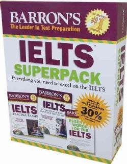 Barron's IELTs Superpack:Everything You Need to Excel on the Ielts
