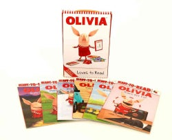 Olivia Loves to Read: Olivia Trains Her Cat; Olivia and Her Ducklings; Olivia Takes a Trip; Olivia and the Snow D... (Paperback)