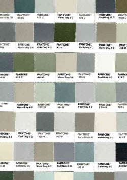 Pantone Fifty Grays Journal (Notebook / blank book)