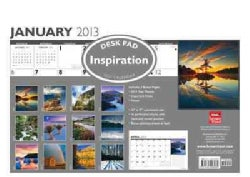 Inspiration Desk Pad 2013 Calendar