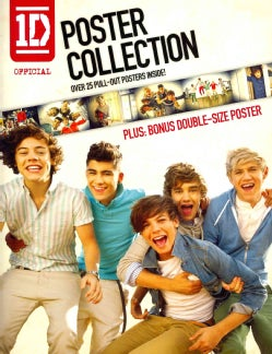 1D Official Poster Collection: Over 25 Pull-out Posters, Plus: Bonus Double-size Poster (Paperback)