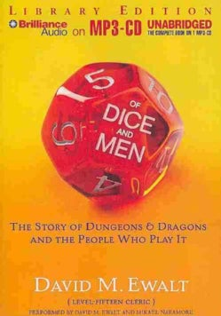 Of Dice and Men: The Story of Dungeons & Dragons and the People Who Play It: Library Edition (CD-Audio)