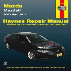 Haynes Mazda6 2003 Thru 2011 Automotive Rapir Manual (Paperback)