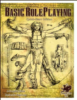 Basic Roleplaying Quick-Start Edition: The Chaosium System (Paperback)