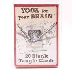 Yoga for Your Brain Blank Cards D.i.y Tangle Cards (Cards)