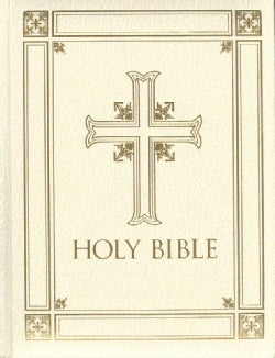 Holy Bible: Revised Standard Version, Catholic Edition, Ivory (Hardcover)