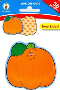 Pumpkins: Mini Cut-outs, Two Sided (Paperback)