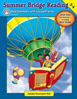 Summer Bridge Reading: Grades 3-4 (Paperback)