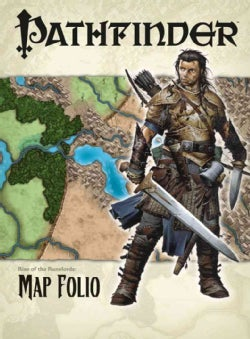 Pathfinder Chronicles Rise of the Runelords Map Folio (Paperback)