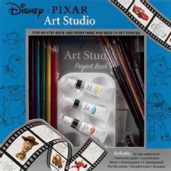 Disney-Pixar Art Studio: Step-by-Step Book and Everything You Need to Get Started (Novelty book)