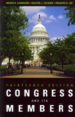 Congress And Its Members (Paperback)