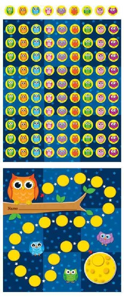 Owls: Mini Incentive Charts (Wallchart)