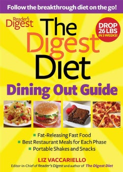 Digest Diet Dining Out Guide: Follow the Breakthrough Diet on the Go! (Paperback)