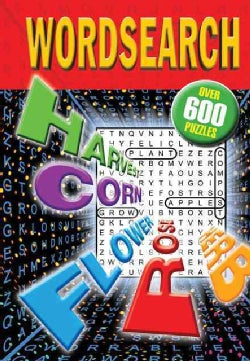 Wordsearch: Over 600 Puzzles (Spiral bound)
