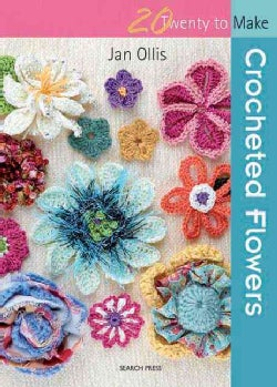 Crocheted Flowers (Paperback)