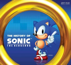 The History of Sonic the Hedgehog (Hardcover)