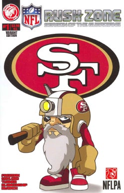 NFL Rush Zone: Season of the Guardians 1: San Francisco 49ers: Variant Edition (Paperback)