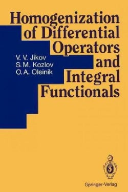 Homogenization of Differential Operators and Integral Functionals (Paperback)