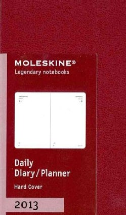 Moleskine Bordeaux Red Extra Small 2013 Daily Planner (Calendar)