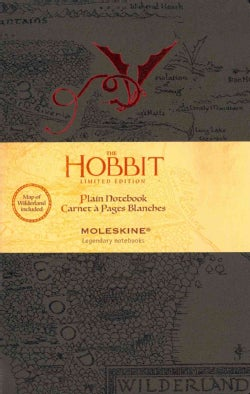 Moleskine Hobbit Notebook Plain Large (Hardcover)