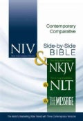 Contemporary Comparative Side-By-Side Bible: New International Version, New Living Translation, New King James Ve... (Hardcover)