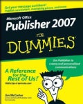 Microsoft Publisher 2007 for Dummies (Paperback)