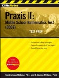 Cliffsnotes:CliffsNotes Praxis II:Middle School Mathematics Test (0069) Test Prep(Paperback / softback)