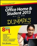 Microsoft Office Home & Student 2013 All-in-One for Dummies (Paperback)