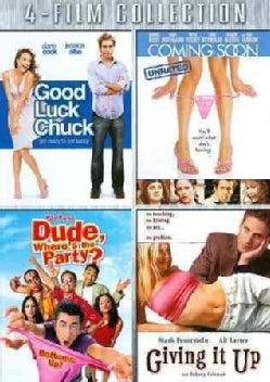 Good Luck Chuck/Coming Soon/Dude, Where's The Party/Giving It Up (DVD)