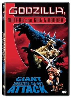 Godzilla, Mothra and King Ghidorah: Giant Monsters All Out Attack (DVD)