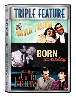 The Awful Truth/Born Yesterday/His Girl Friday (DVD)
