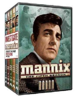 Mannix: Five Season Pack (DVD)