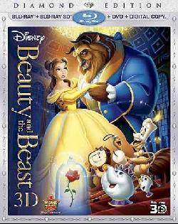 Beauty and the Beast - Diamond Edition (Blu-ray 3D / Blu-ray / Digital Copy / DVD)