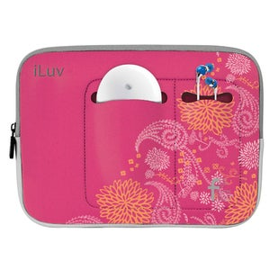 """iLuv iBG2030 Carrying Case (Sleeve) for 17"""" MacBook - Black"""
