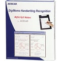Solidtek ACECAD DigiMemo Handwriting Recognition Software