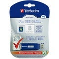 Verbatim 8GB Store 'n' Go Pro USB 2.0 Flash Drive