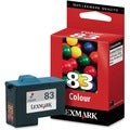 Lexmark Tri-Color No. 83 Ink Cartridge