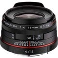 Pentax smc DA 15mm f/4 ED AL Limited Ultra Wide Angle Lens