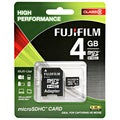 Fujifilm 4GB Micro Secure Digital High (SDHC) Card