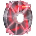 Cooler Master MegaFlow 200mm Red LED Computer Case Fan
