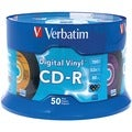 Verbatim Digital Vinyl Standard 120mm CD-R Media - 700MB - Logo Printed - 120mm Standard