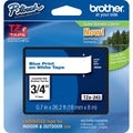 Brother TZ Series Blue on White Lettering Tape