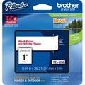 Brother TZ Series Red on White Lettering Tape