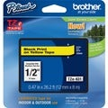 Brother TZ Series Black-on-Yellow Tape Cartridge