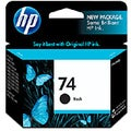 HP 74 Ink Cartridge - Black