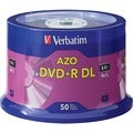 Verbatim DVD Recordable Media - DVD+R DL - 8x - 8.50 GB Spindle