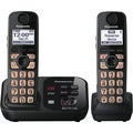Panasonic KX-TG4732B Cordless Phone - 1.90 GHz - DECT - Black