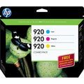 HP 920 Combo-pack Ink Cartridge - Cyan, Magenta, Yellow