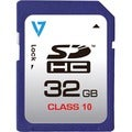V7 32 GB Secure Digital High Capacity (SDHC) - 1 Card - Retail